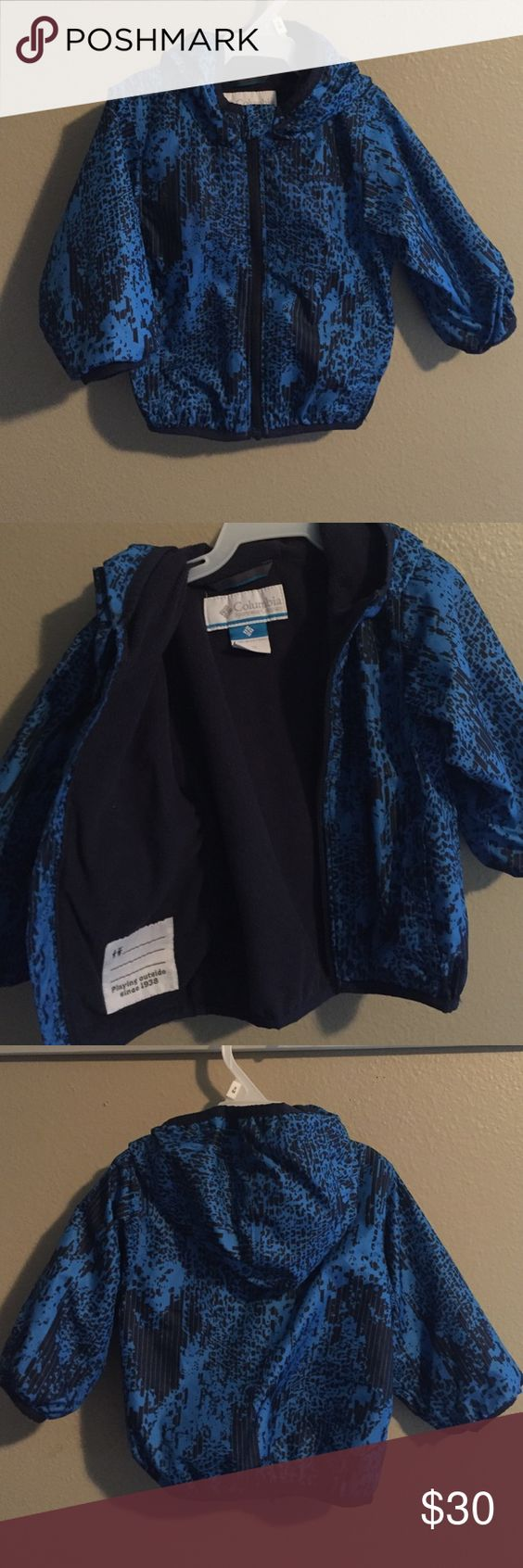 Columbia Sportswear Jacket EUC fleece lined windbreaker. Can stand up to light rain, but not heavy rain. Super cute! Columbia Sportswear Jackets & Coats