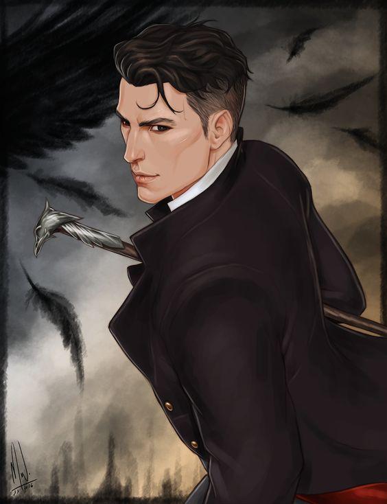 Kaz Brekker (Artwork) by Merwild.deviantart.com