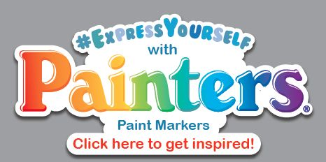 #ExpressYourself with Painters Paint Markers: see this board full of crafty inspiration! :)