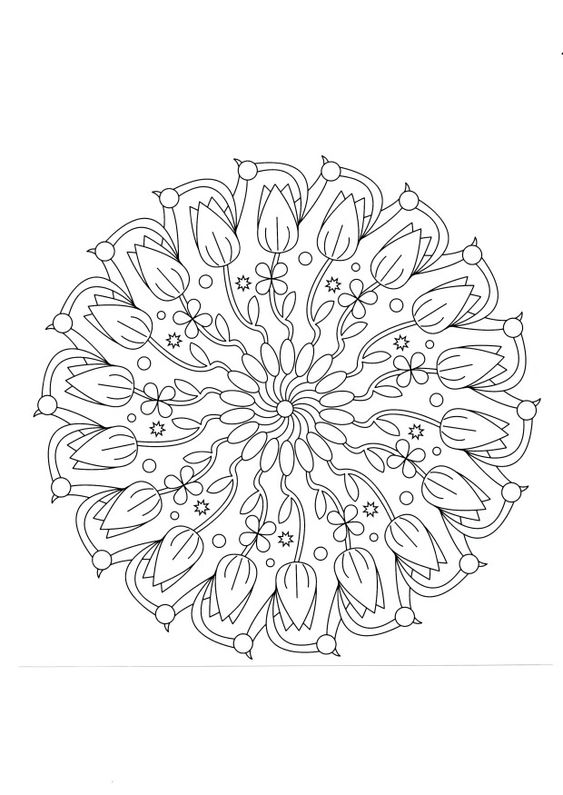 mandalas piping patterns and tulip on pinterest. Black Bedroom Furniture Sets. Home Design Ideas