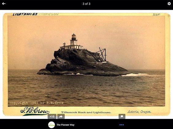 Old lighthouse n oregan
