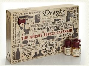Whisky Advent Calendar - for real. We'd say this one might not be for the kids.