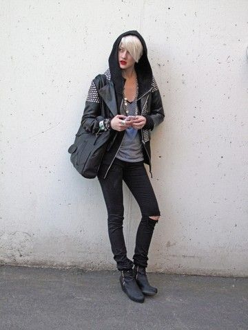Edgy Tomboy Fashion Tomboy Chic