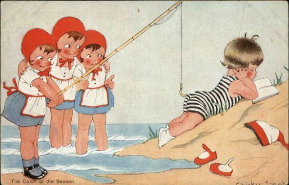 Chicky Spark c1910 postcard | eBay: