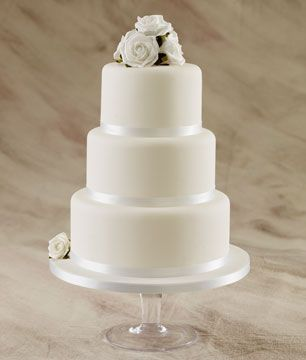 Simple Wedding Cakes   Affordable Wedding Cakes   by Sugarbliss Cake Company