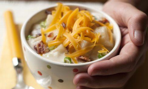 Soup for the Slow Cooker | Recipe | Potato Soup, Baked Potato Soup ...