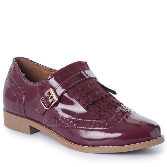 Oxford Valdirene Bebecê | Mundial Calçados - MundialCalcados