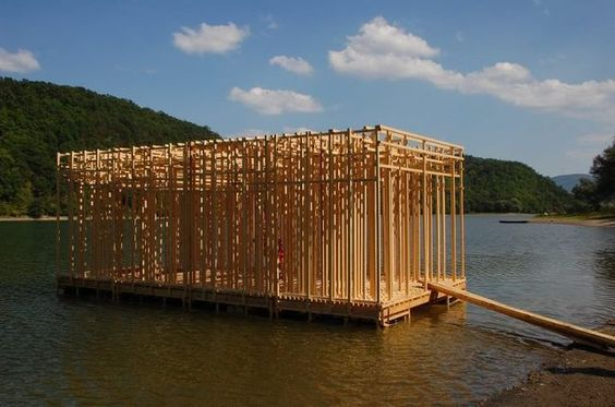 floating woodhouse - hello wood project