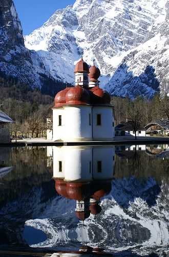 St. Bartholomä, Bavaria, Germany (via mattrkeyworth)
