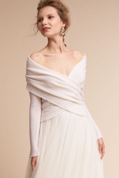 Ivory Ethereal Sweater   BHLDN