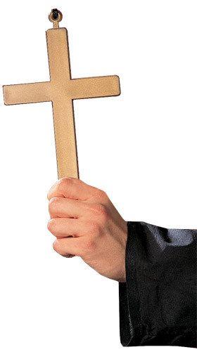Kreuz Halskette gold 23x13cm, aus unserer Kategorie Karneval Kostümzubehör. Lobet den Herren auf der nächsten Karnevalsparty! Mit diesem Kreuz ist einem der Segen Gottes gewiss. Ein großartiges Accessoire für Fasching und Mottopartys. #Karnevalskostüm #religiöseKostüme