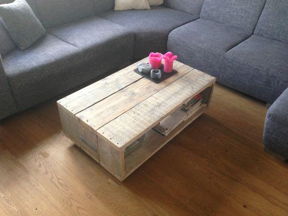 Salontafel steigerhout op wielen steigerhouten meubelen for Steigerhout salontafel