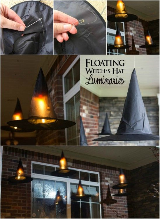 40 Easy to Make DIY Halloween Decor Ideas Homemade, Home and Good - ideas halloween decorations
