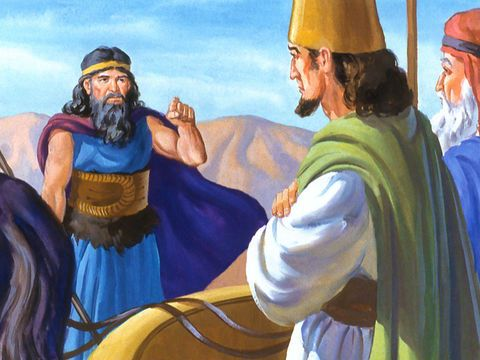 Freebibleimages Elijah And The Prophets Of Baal Elijah Has A Contest With The Prophets Of Baal On Mount Carmel 1 Kings 16 29 Elijah Mount Carmel Prophet
