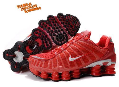negocio Espejismo por no mencionar  Nike Shox TL3 Hombre Rojo en 2020 | Zapatillas nike shox, Nike shox, Nike