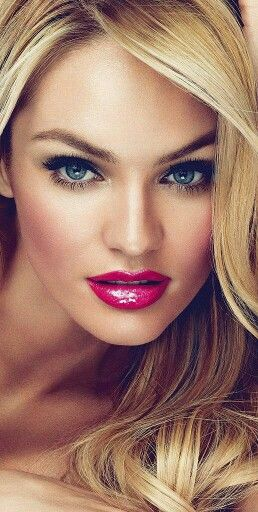 Beautiful flirty make up! #Candice