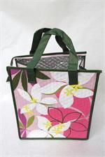 Tropical Paper Garden Hot & Cold Reusable Bag Pleasance Pink