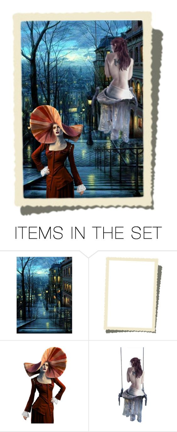 """""""I'm not talking to you!"""" by xxmobxx ❤ liked on Polyvore featuring art"""
