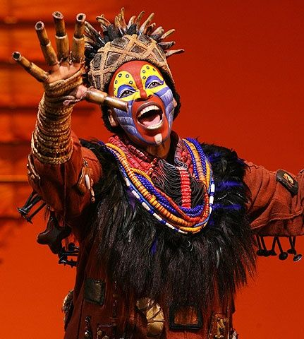 Lion King on Broadway. I love Broadway shows in general.
