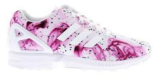 Womens ADIDAS ZX FLUX White Smoke Casual Trainers S77432