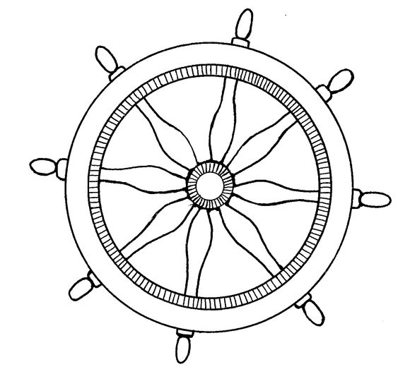 Mormon Share Nautical Ships Steering Wheel Dinosaur Coloring Pages Whale Coloring Pages Coloring Pages