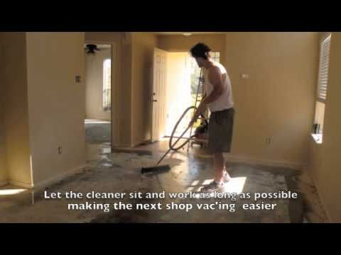 A video of the process my husband and I did to stain our home's concrete floors.   This is a step-by-step picture guide with text.  Before and After pictures included. Please visit www.daxnorman.com