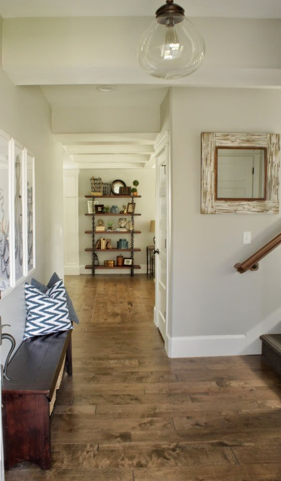 The Floor Paint Colors And Repose Gray On Pinterest