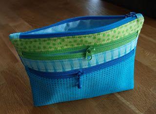 Triple Zip Bag