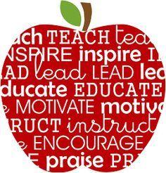 teacher apple svg - Google Search: