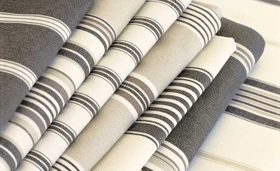 ROMO Stratton collection - classic ticking stripes in a range of colours