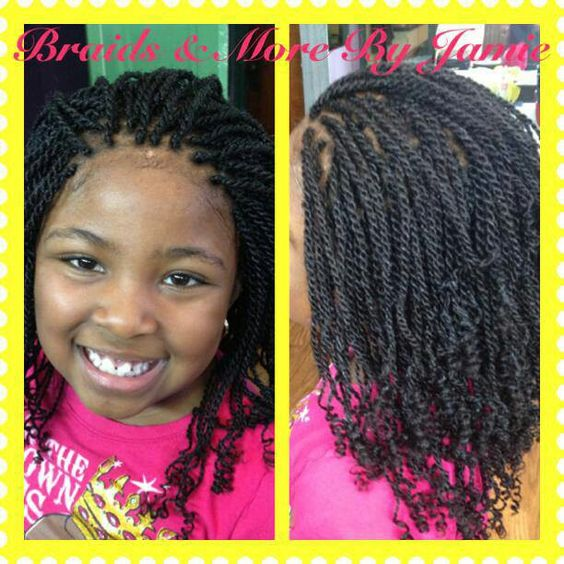 Marvelous Kinky Twists Kid And Twists On Pinterest Hairstyles For Women Draintrainus
