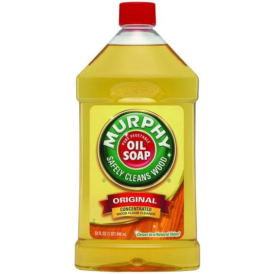 Murphy's Oil 32 oz. Wood Floor and Furniture Cleaner https://en.wikipedia.org/wiki/Murphy_Oil_Soap
