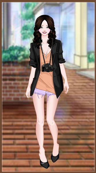 Bohemian style dress up game