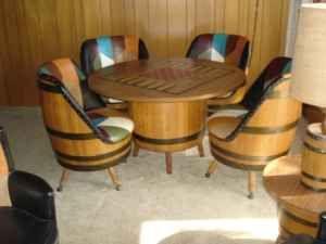 Barrel Furniture Barrels And 1920s Furniture On Pinterest