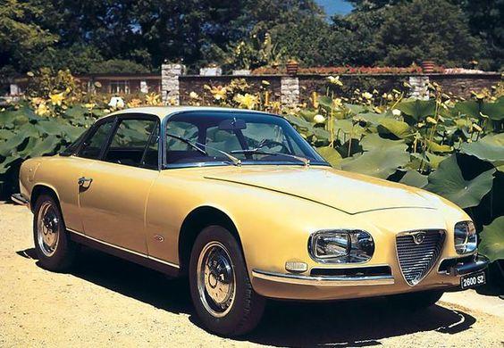Alfa Romeo 2600 SZ - 1965/1967 - 105 exemplaires
