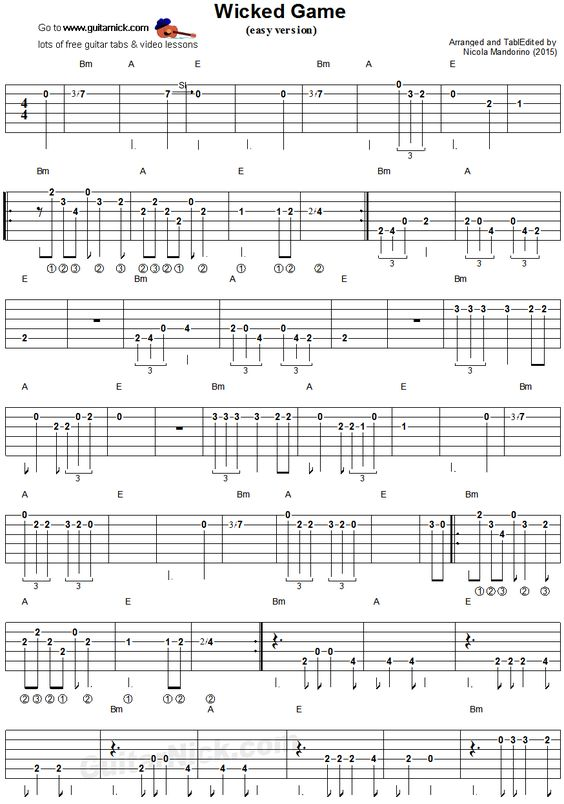 how to read guitar tab music
