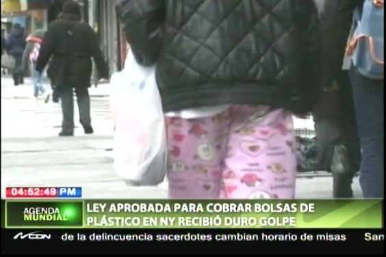 Ley Aprobada Para Cobrar Bolsas Plásticas En NY Recibió Duro Golpe