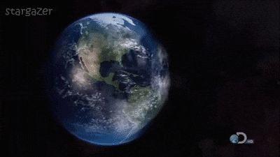 Como seria se um buraco negro estivesse próximo à Terra.