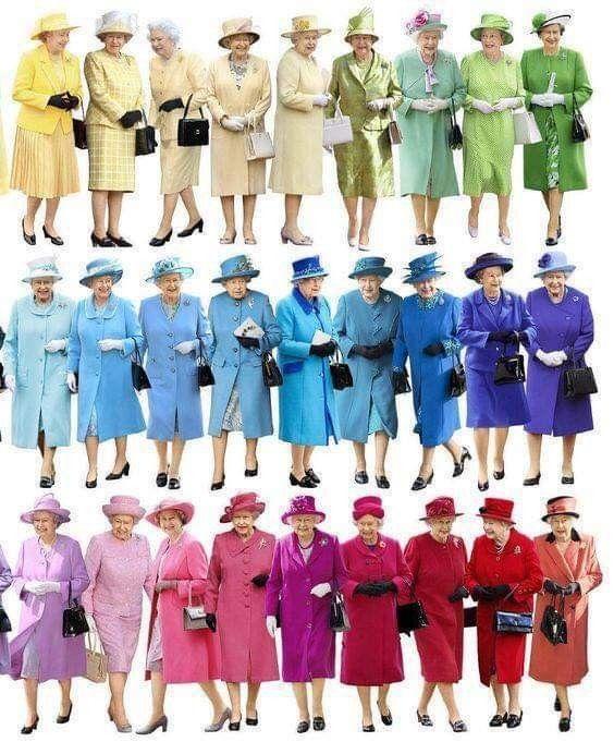 Pin By Patricia Hocking On Colors Queen Elizabeth Elizabeth Ii Queen Hat