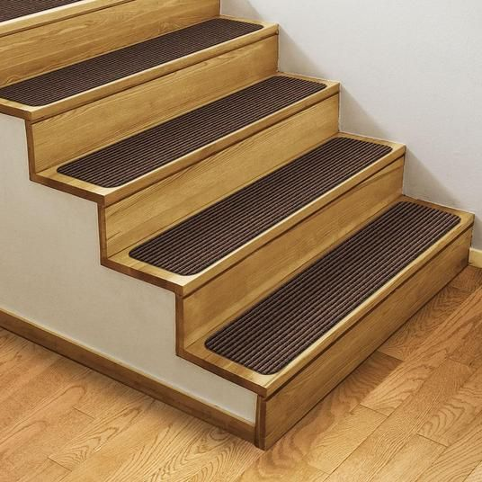 Our Skid Resistant Double Ribbed Carpet Stair Treads Feature A