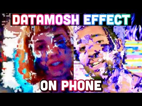How To Do Datamosh Effect On Iphone Android Trippy Music Video Effect Youtube Trippy Music Music Videos Trippy Visuals