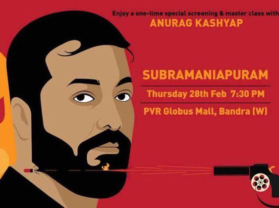 Anurag Kashyap's Gangs Of Wasseypur was inspired by Sasikumar's Subramaniapuram