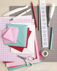 Great go-to for making your own cards.  Thanks, Martha! :)