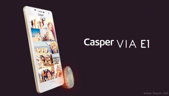 Casper VIA E1 Akıllı Telefon