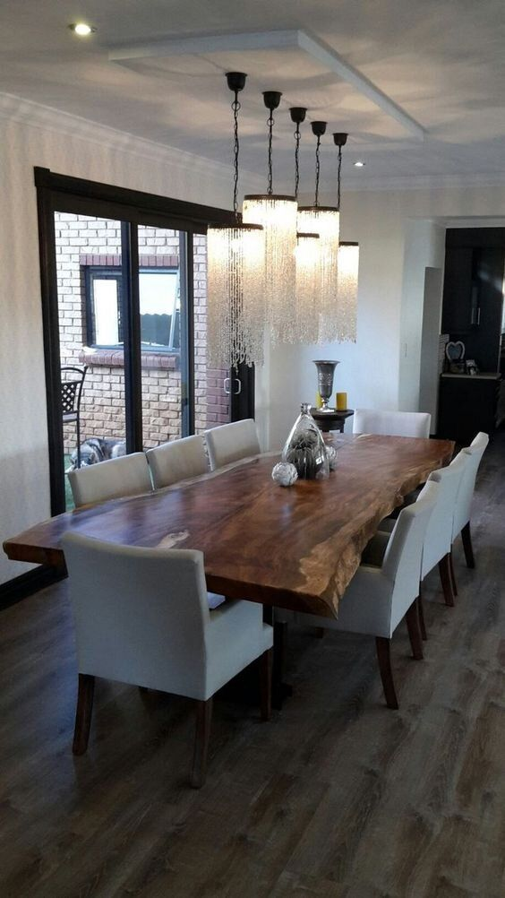 30 Affordable Dining Room Design Ideas For A Romantic Atmosphere In 2020 Wood Dining Room Table Wood Dining Room Dining Table Lighting