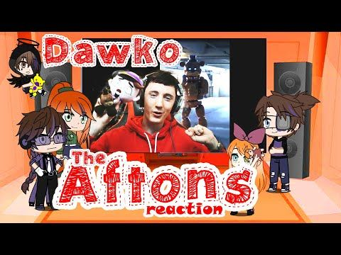 Afton Family Reacts To Dawko Gacha Life Fnaf Meme Review18 0 Youtube In 2021 Afton Memes Fnaf