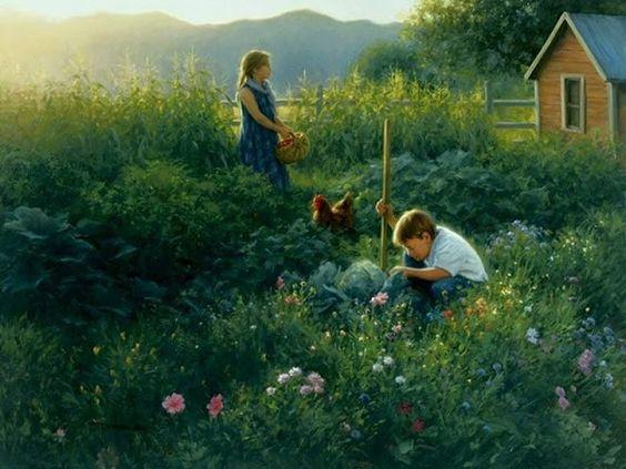 Hermosas pinturas de oleo, por Robert Duncan – Rincón Abstracto