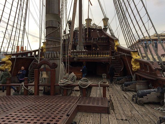Image Result For The Neptune Galleon Deck Galleon Sailing Boat