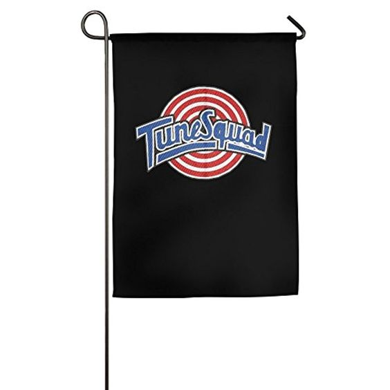 Space Jam Tune Squad Logo Garden Sports Flag New Style Christian