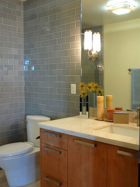 Modern Bathrooms from Ammie Kim on HGTV For the Home Pinterest